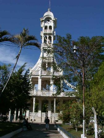 San Vicente, El Salvador: torre kiosco