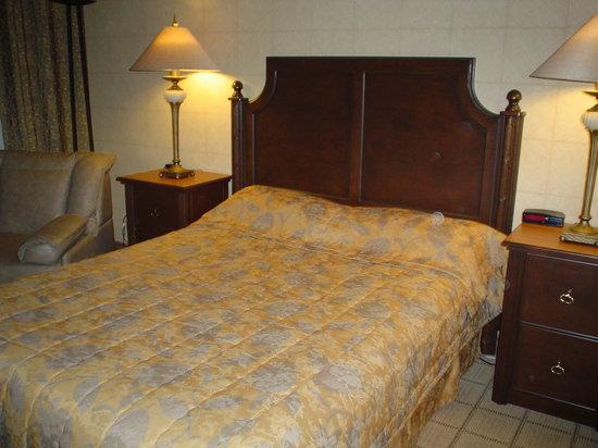 L'Hotel Quebec: Chambre