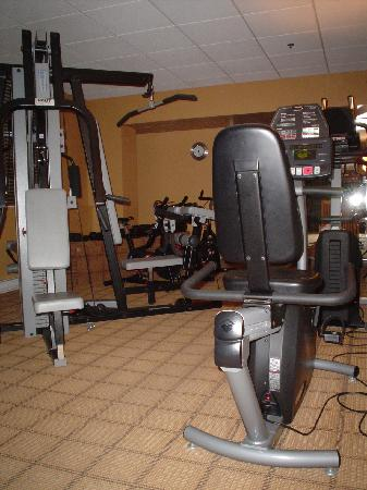 L'Hotel Quebec : Gym