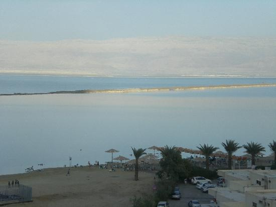 Hod Hamidbar Resort and Spa Hotel: View from the ninth floor- sunset