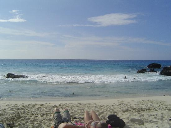 Manini'owali Beach (Kua Bay): Not crowded...plenty of room