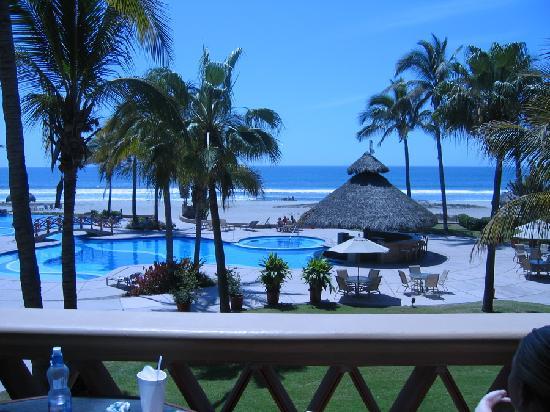 Estrella Del Mar Golf Course: view from 210