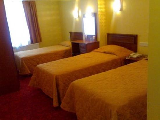Kafkas Hotel İstanbul: Triple room