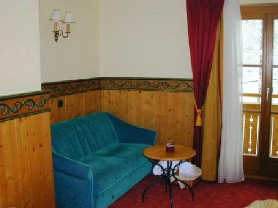 Familienresort Reslwirt: Zimmer, Sitzecke