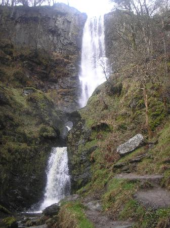 Llanrhaeadr ym Mochnant, UK: The biggest waterfall in Wales.