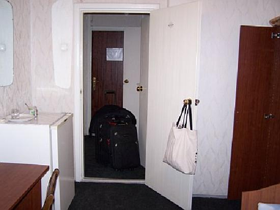 Kotorosl Hotel Complex: shared hallway