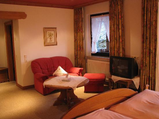 Hotel Eurener Hof : The Sitting Area, Room 231
