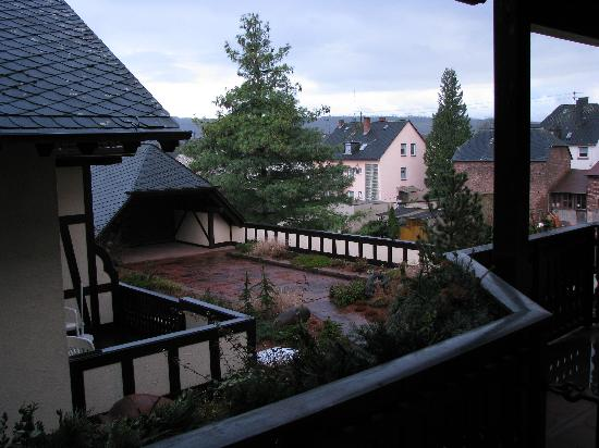Hotel Eurener Hof: View from the Balcony, Room 231