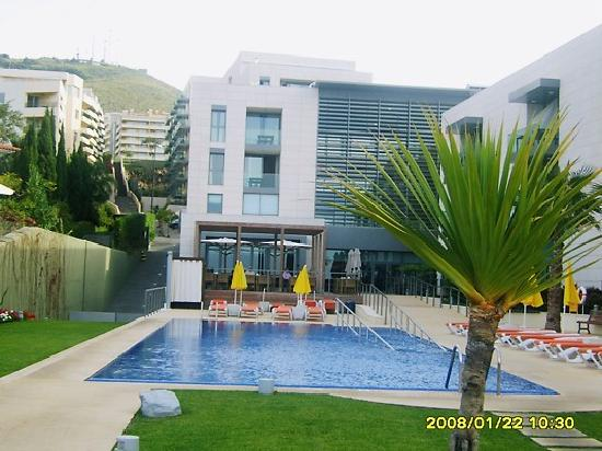 Golden Residence: outdoor pool