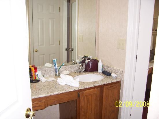 هوموود سويتس أتلانتا - بيتش تري كورنرز: bath area