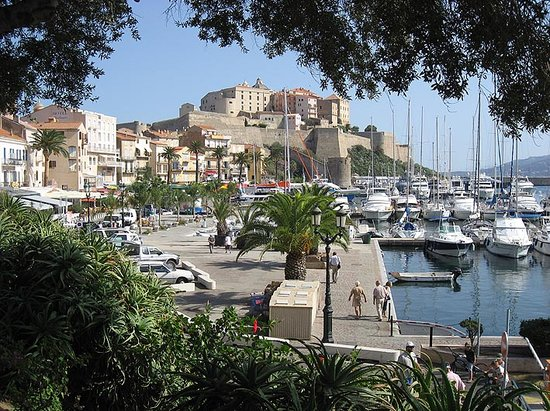 Calvi, France: Harbour & Citadel