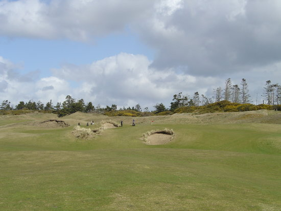 Bandon Dunes Golf Resort: Bandon Dunes 1 Green