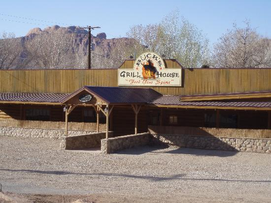 Buck's Grill House: Photo of Buck's just north of Moab