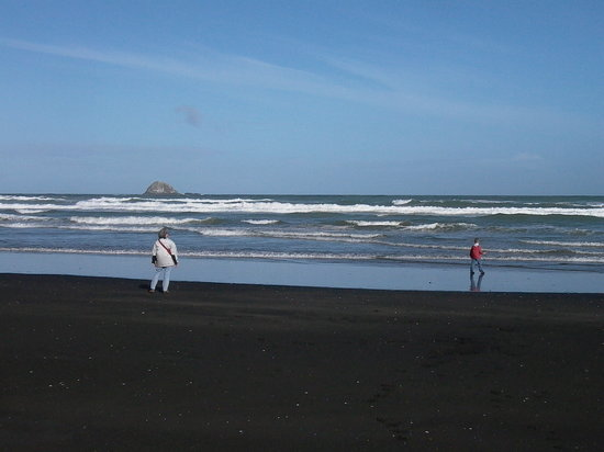 Bethells Beach: Winter at Muriwai Beach
