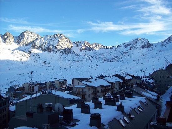 Hotel Arka: view from balcony