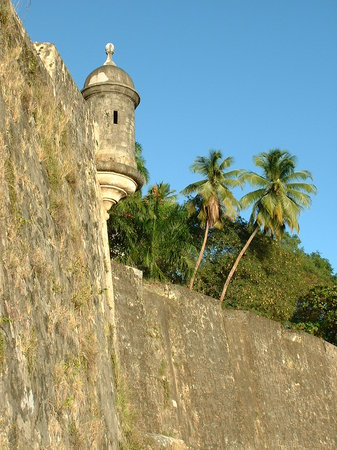 Сан-Хуан, Пуэрто-Рико: Sentry box old San Juan fort