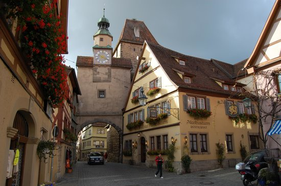 Restauranger i Rothenburg