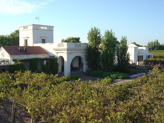 Cavas Wine Lodge: Main building