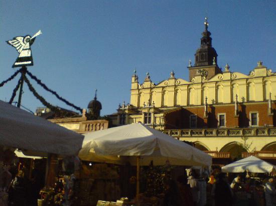 Krakow, Polonya: Main Market Square Cracow