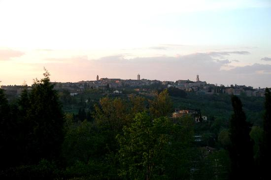 Residence Il Palazzetto: Panorama over Siena