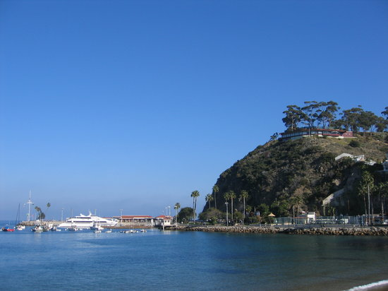 Catalina Island, Califórnia: Where the Fast Cat docks