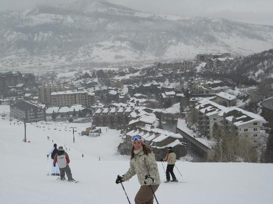 Ski Time Square Condominiums: within walking distance from condo - base lodge