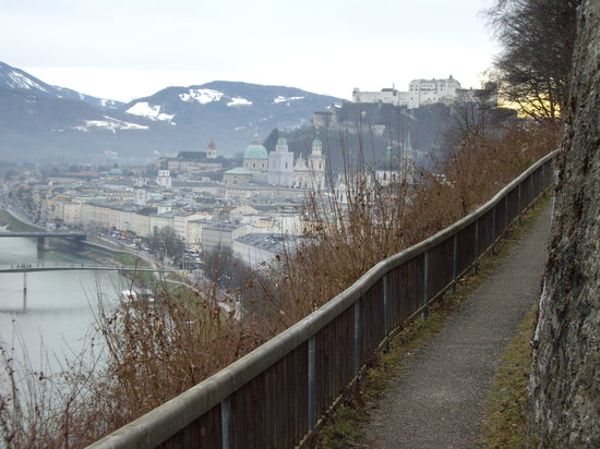 Salzburg, Austria: View from the Moenchsberg