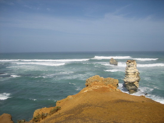 South Australia, Austrálie: The bay of islands - the great ocean road