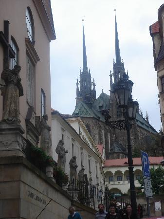 Brno, Czech Republic: downtown