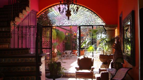 Hotel Casa Campos Bed & Breakfast: L'entrée