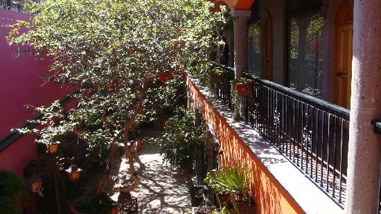 Hotel Casa Campos Bed & Breakfast: La cour intérieure