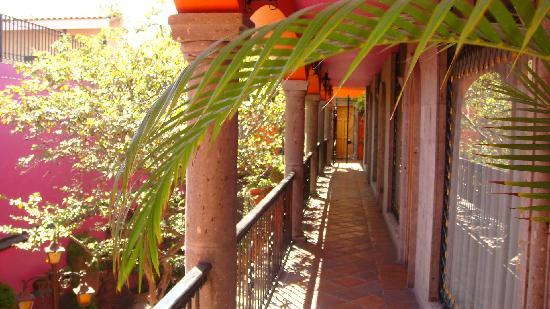 Hotel Casa Campos Bed & Breakfast: L'accès aux chambres du 1er