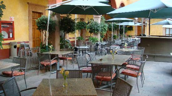 Hotel Quinta Santiago: Le ptit dèj