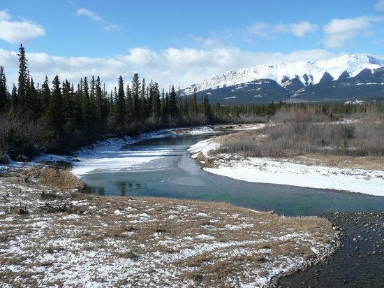 Jasper, كندا: river
