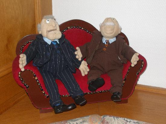 Best Western Plus Parkhotel Erding: Old guys from the Muppets
