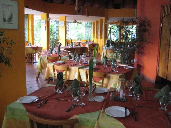 Enchanted Waters Tobago: The open air restaurant