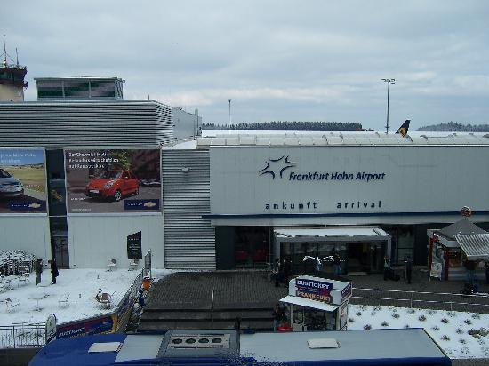 B&B Hotel Frankfurt-Hahn Airport: View from window in our room