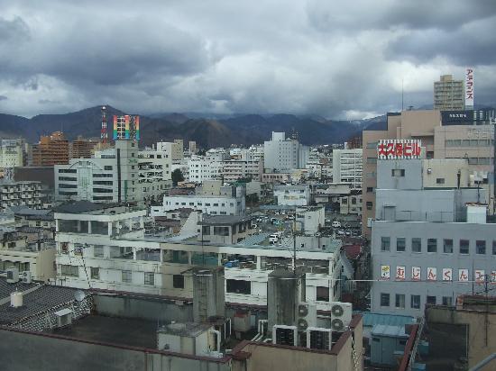 Comfort Hotel Yamagata: From my 9th floor Window
