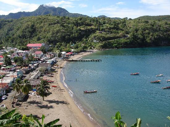 St. Lucia: Fishing village of Anse La Raye