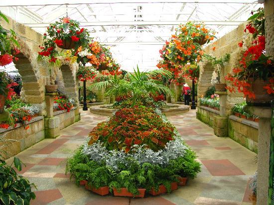 Royal Tasmanian Botanical Gardens Fl Display Building