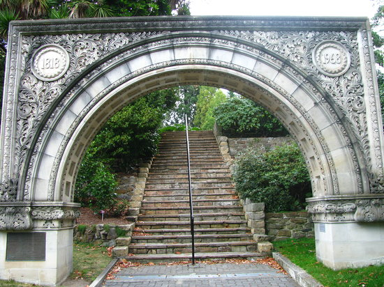 Hobart, Australia: arch