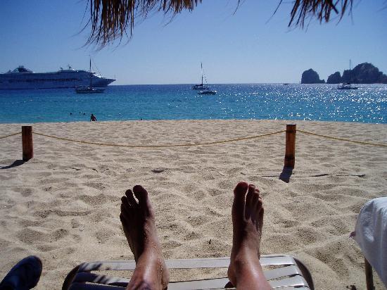 Club Cascadas de Baja: My daily view