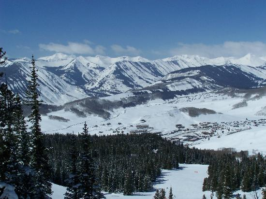 Crested Butte, CO: View from the mountain
