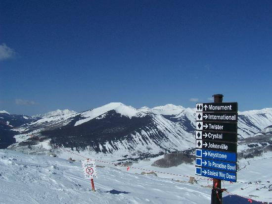 Crested Butte, CO: View from the top
