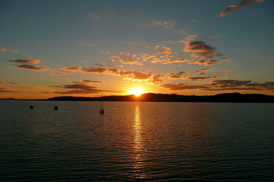 Millennium Hotel and Resort Manuels Taupo: Sunset over Lake Taupo