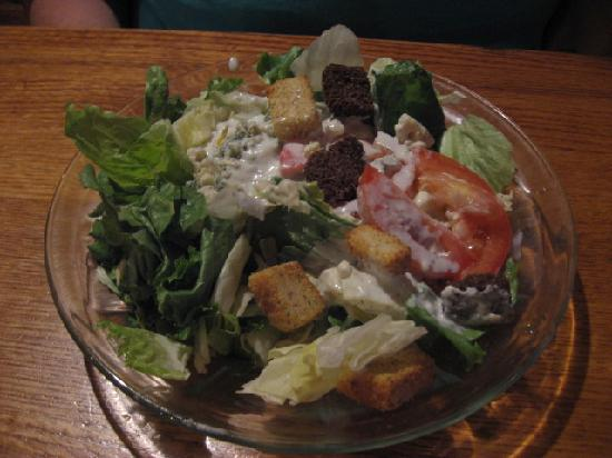 Parrain's Seafood Restaurant: House salad (included)