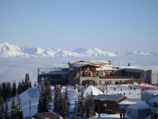 Legends : The restaurant at the top of Big Red Express on Whistler