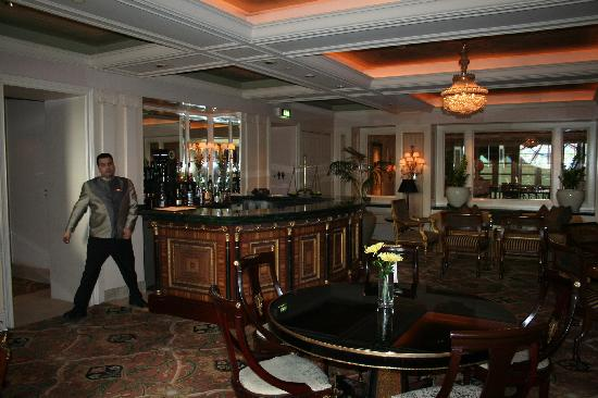 Four Seasons Hotel Cairo at the First Residence : le loiunge