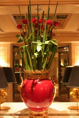 Four Seasons Hotel Cairo at the First Residence : une décoration florale