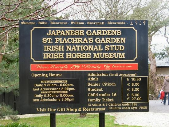 Irish National Stud: Picture Of Irish National Stud & Gardens